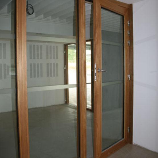 Blocs portes bois das c 1 2 heure un ou deux vantaux for Porte interieure 2 vantaux bois