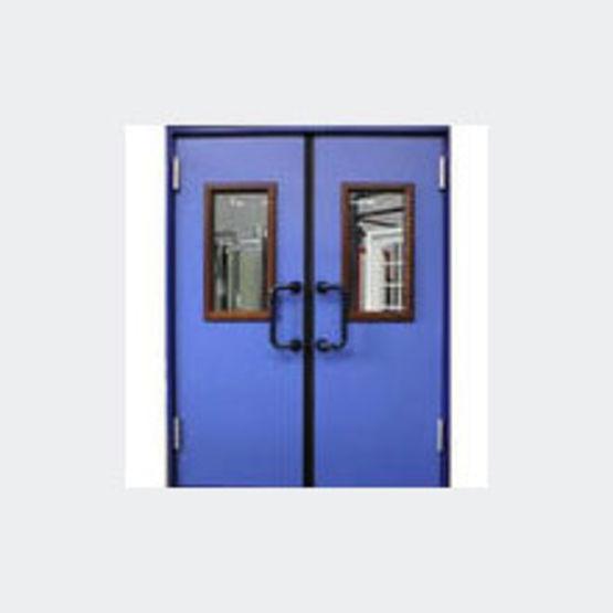 blocs portes bois double action cf 1 heure un ou deux. Black Bedroom Furniture Sets. Home Design Ideas