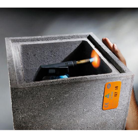 Boisseau en b ton de pouzzolane haute r sistance thermique pour conduit de - Resistance thermique beton ...