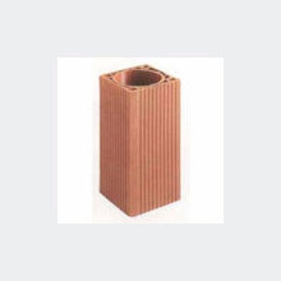 Boisseaux alv ol s en terre cuite maill e hydrofug e for Boisseau de cheminee en terre cuite