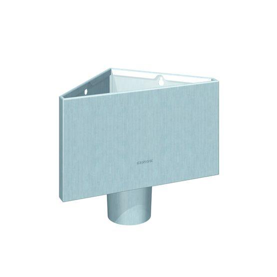 Prismo bo te eau design pour vacuation des ep en - Boite a eau zinc ...