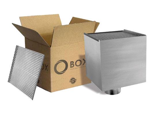 boite eau m tallique pour l 39 vacuation des eaux de pluie en fa ade o 39 box achard. Black Bedroom Furniture Sets. Home Design Ideas