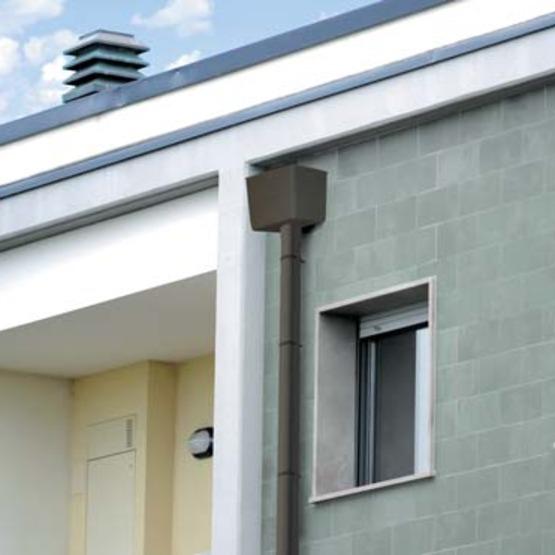 bo te eaux pluviales en pvc pour vacuation sur toits plats. Black Bedroom Furniture Sets. Home Design Ideas