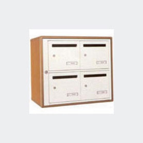 bo tes aux lettres collectives pour int rieur caissons m lamin et fa ades m talliques. Black Bedroom Furniture Sets. Home Design Ideas