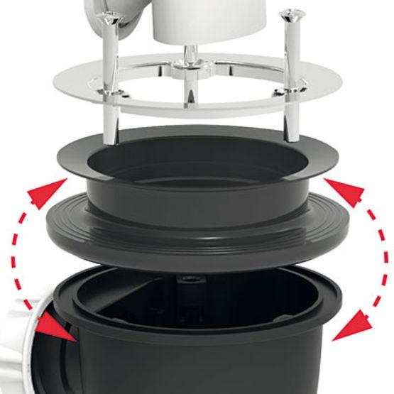 bonde de douche pour receveur de douche extra plat valentin. Black Bedroom Furniture Sets. Home Design Ideas
