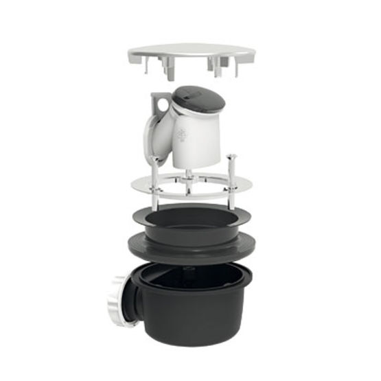 bonde de douche pour receveur de douche extra plat minime 5717 valentin. Black Bedroom Furniture Sets. Home Design Ideas