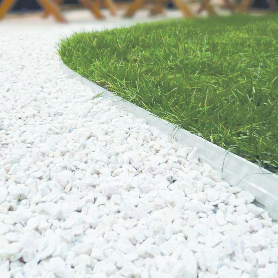 Bordure en aluminium pour jonction entre mat riaux - Bordure aluminium jardin castorama paris ...