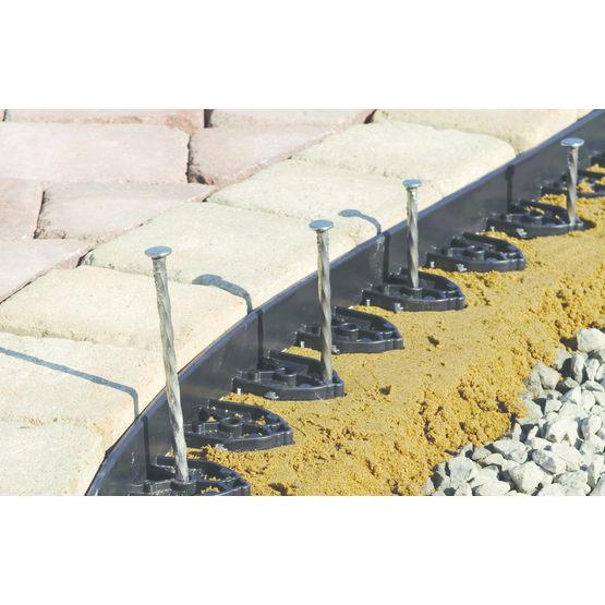 Bordure plastique pour d limitation de rev tement de sol - Revetement de sol plastique ...