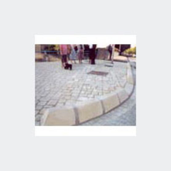 Bordures en pierre reconstitu e bordures girpav - Bordure de jardin pierre reconstituee ...