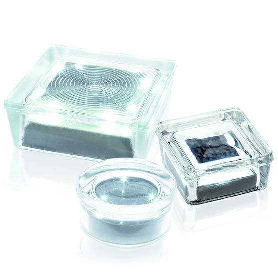 brique de verre capteurs solaires int gr s seves glassblock. Black Bedroom Furniture Sets. Home Design Ideas