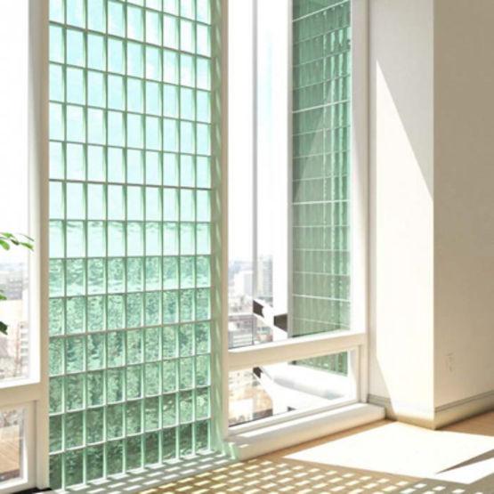 Kit de briques de verre pour paroi de douche | Cubidouche