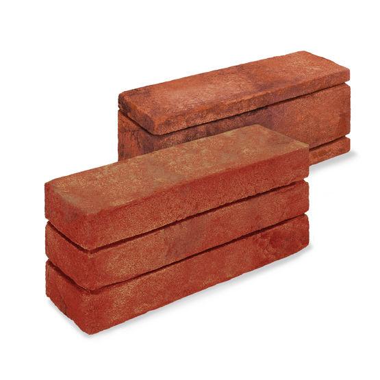 Brique en terre cuite faux joints pour fa ades dubio for Recoller de la terre cuite