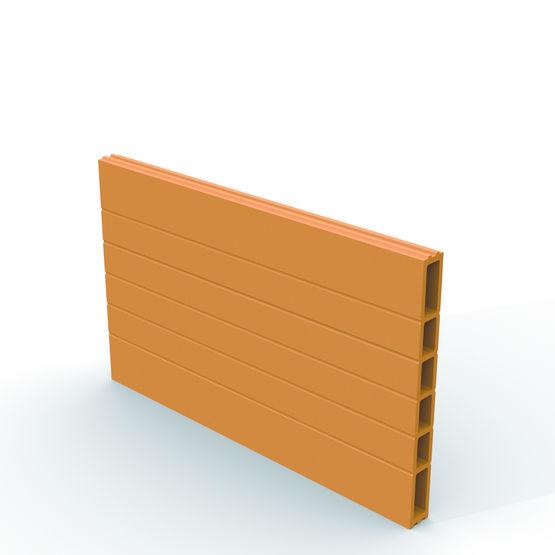 brique grand format double femelle pour plafonds en terre cuite maxi plafond imerys. Black Bedroom Furniture Sets. Home Design Ideas