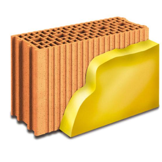 Beautiful briques alvolaires monomur associes un isolant for Prix agglo au m2