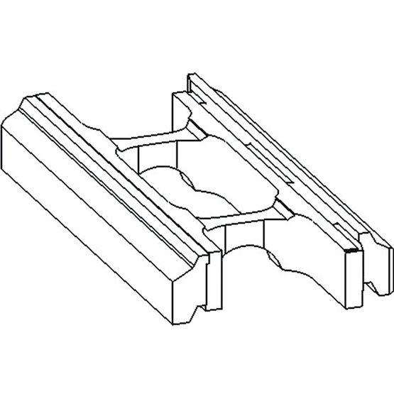 briques de parement creuses en b ton montage sec. Black Bedroom Furniture Sets. Home Design Ideas