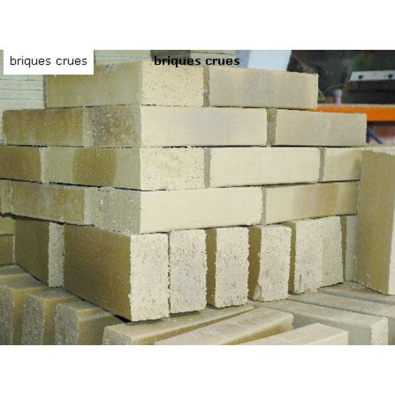 briques de terre crue pour doublage ou remplissage brique crue terre cuite des mauges. Black Bedroom Furniture Sets. Home Design Ideas