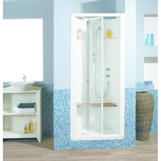 cabine de douche encastrer kinedo baln o douche. Black Bedroom Furniture Sets. Home Design Ideas