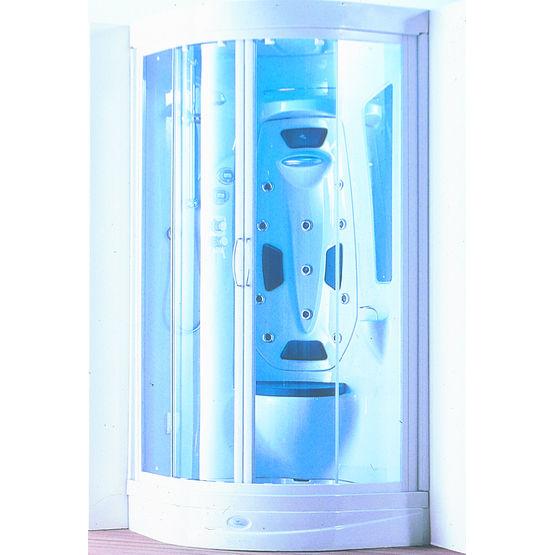 Magnifique Cabine de douche avec hydromassage et hammam | Idea - Ideal Standard #FY_98