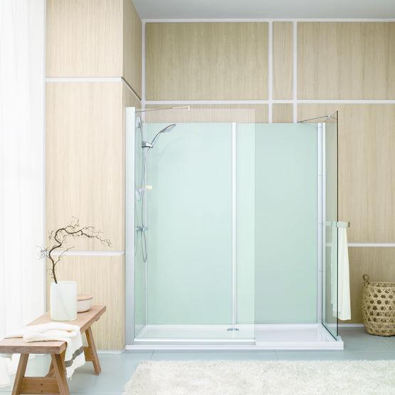 cabine de douche compl te en huit dimensions access leda. Black Bedroom Furniture Sets. Home Design Ideas
