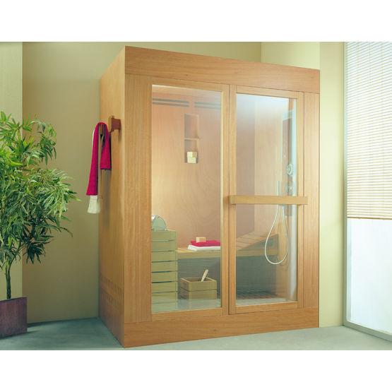 cabine multifonction pour douche sauna et hammam tris ideal standard. Black Bedroom Furniture Sets. Home Design Ideas