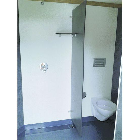 Cabines sanitaires pr mont es et pr quip es cabines for Cabine wc exterieur