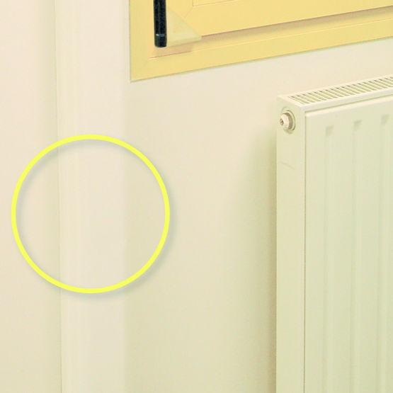 cache de protection pour tuyaux de chauffage prot ge conduit de radiateur wattelez. Black Bedroom Furniture Sets. Home Design Ideas