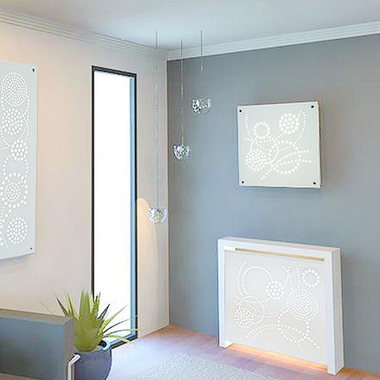 Cache radiateur en pl tre staff d cor for Decoration en platre staff