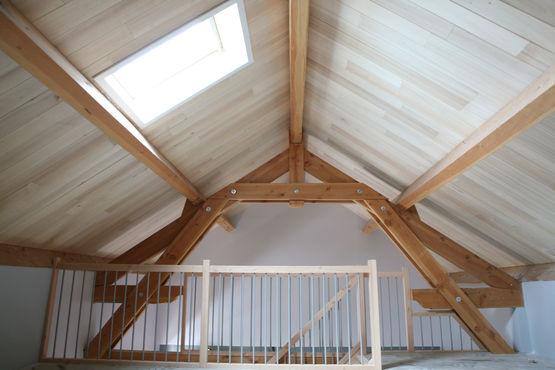 Caisson Isolant Chevronne A Sous Face Decorative Pour Toiture Usystem Roof Os Ex Trilatte Plus Unilin Insulation