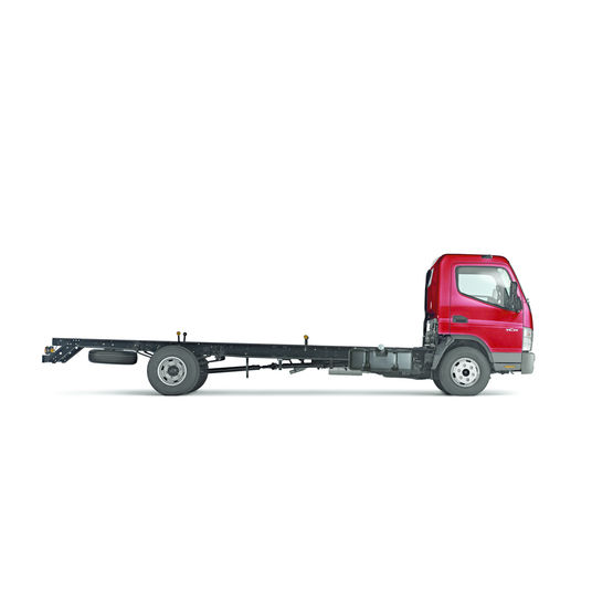 camion ch ssis de 7 5 tonnes ptc mitsubishi fuso. Black Bedroom Furniture Sets. Home Design Ideas