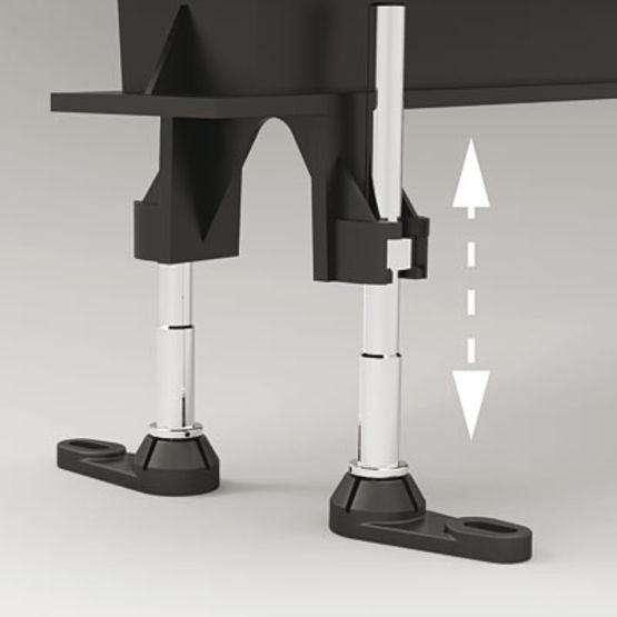 caniveau de douche de plain pied caniveau de douche de plain pied 400 1200 valentin. Black Bedroom Furniture Sets. Home Design Ideas