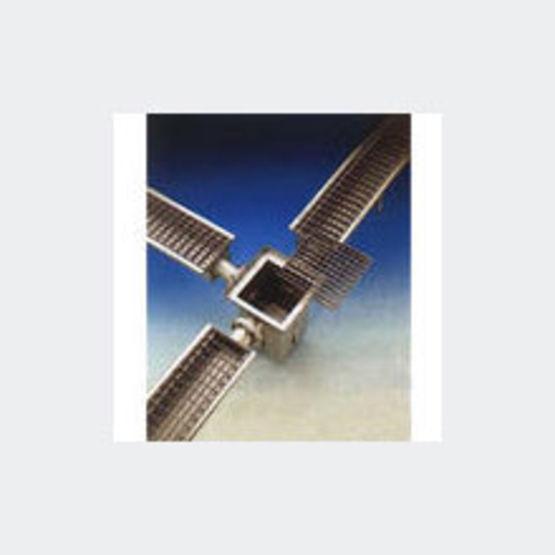 Caniveau inox modulaire caillebotis jusqu 39 42 m de for Caniveau inox exterieur