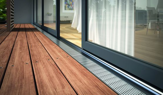 caniveaux en acier galvanis pour terrasses toitures et fa ades. Black Bedroom Furniture Sets. Home Design Ideas