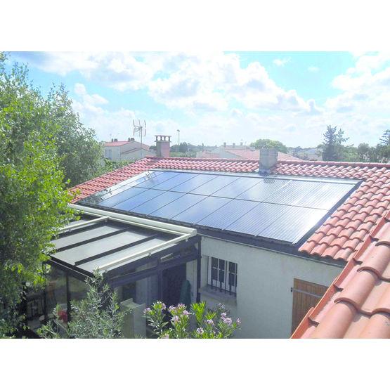 Capteur solaire mixte thermique et photovoltaïque   Clips Mix - Clipsol e8af39a4aded