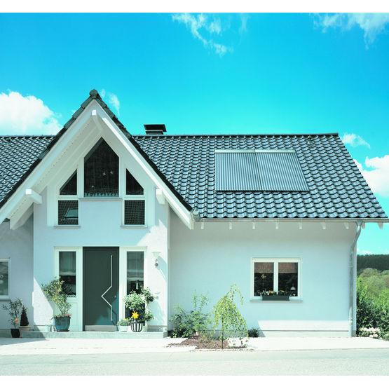 capteur solaire pour pose horizontale ou verticale solar df id al standard chauffage. Black Bedroom Furniture Sets. Home Design Ideas