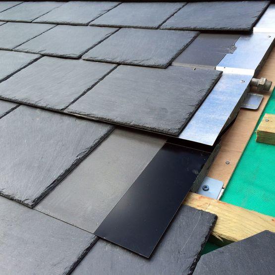 capteur solaire thermique en ardoise naturelle pour ecs et. Black Bedroom Furniture Sets. Home Design Ideas