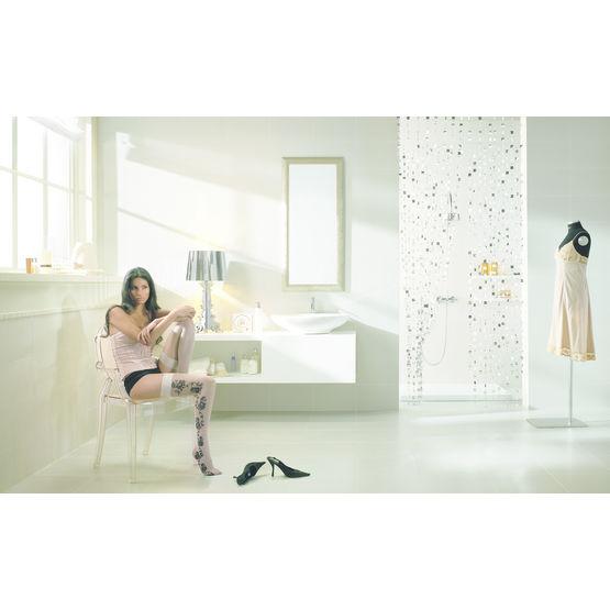 carreaux de fa ence structur s de motifs dentelles feel. Black Bedroom Furniture Sets. Home Design Ideas