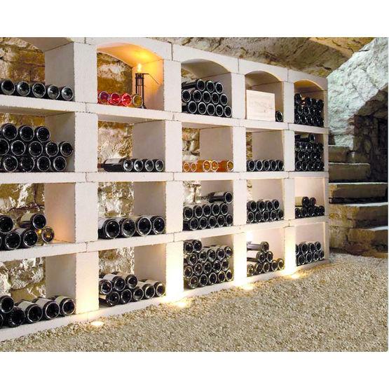 casiers bouteilles modulaires en pierre reconstitu e inovo vinho sgmn e trade. Black Bedroom Furniture Sets. Home Design Ideas