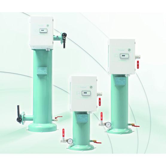 centrale de traitement anti tartre de l 39 eau bio trionic biofluides environnement. Black Bedroom Furniture Sets. Home Design Ideas