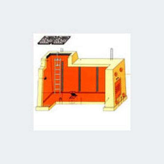 Chambres de tirage avec plafond prefaest for Chambre de tirage