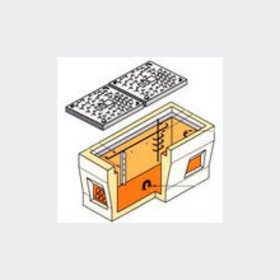 Chambres de tirage en b ton agr es t l coms prefaest - Chambre de tirage fibre optique ...