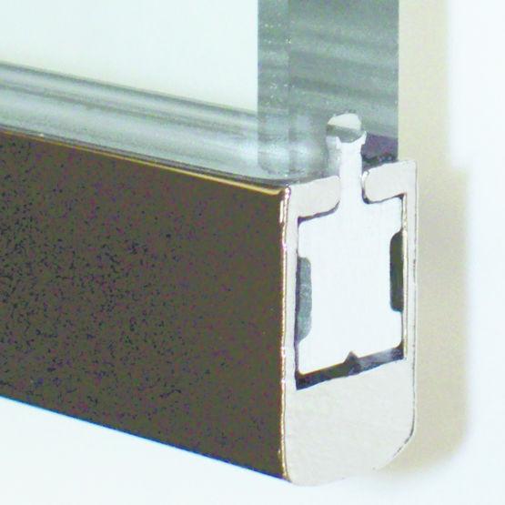 Charni re pour porte en verre de 10 ou 12 mm d 39 paisseur for Porte interieure en verre prix
