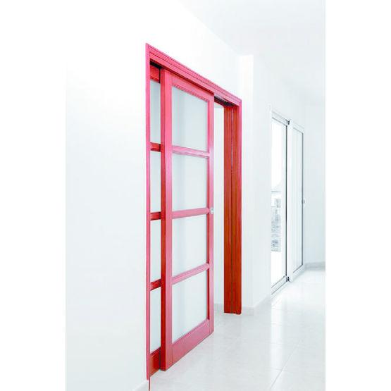 ch ssis pour porte coulissante un ou deux vantaux parall les orchidea vantaux parall les. Black Bedroom Furniture Sets. Home Design Ideas