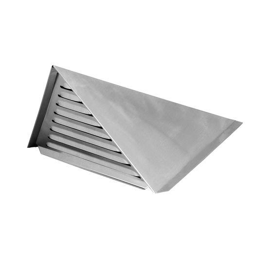 Châtières en zinc pour ventilation