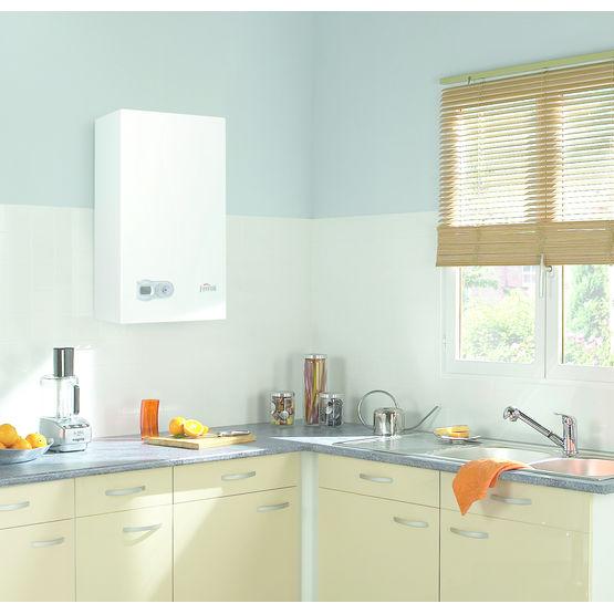 chaudi re gaz condensation jusqu 39 24 kw ferroli. Black Bedroom Furniture Sets. Home Design Ideas