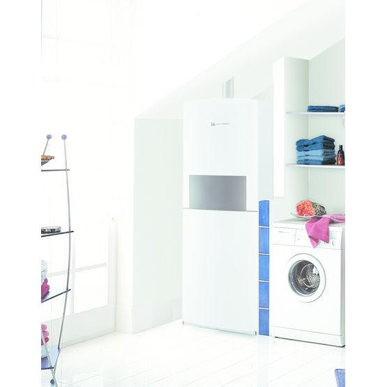 chaudi re gaz au sol condensation avec ballon int gr. Black Bedroom Furniture Sets. Home Design Ideas