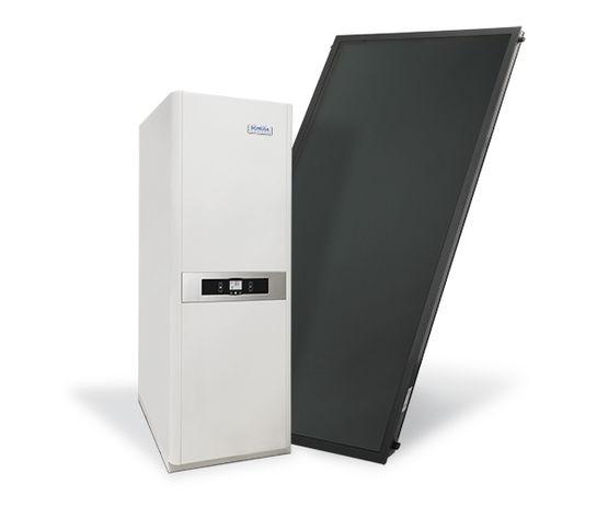 chaudi re hybride avanttia h solar gaz par domusa batiproduits. Black Bedroom Furniture Sets. Home Design Ideas