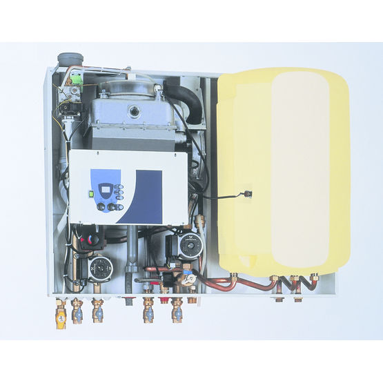 chaudi res condensation pour deux circuits de chauffage geminox. Black Bedroom Furniture Sets. Home Design Ideas