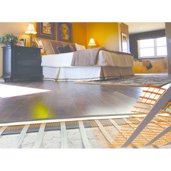 chauffage au sol au cours des dernires annes le chauffage par le sol lectrique a t de plus en. Black Bedroom Furniture Sets. Home Design Ideas