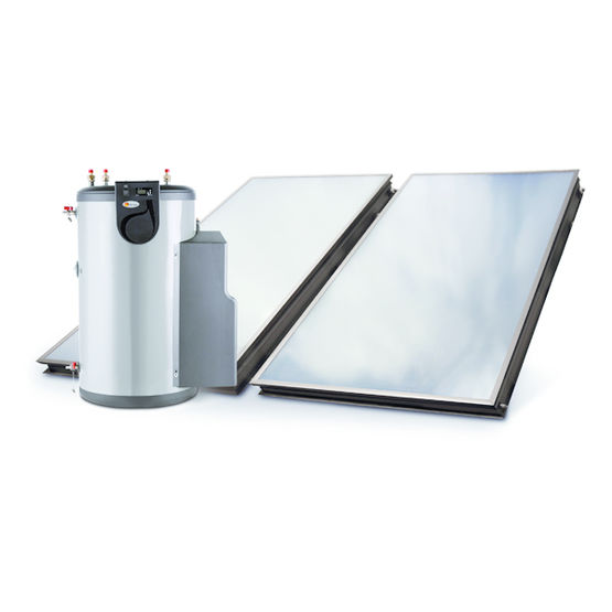 Chauffe eau inox solaire individuel auto vidangeable