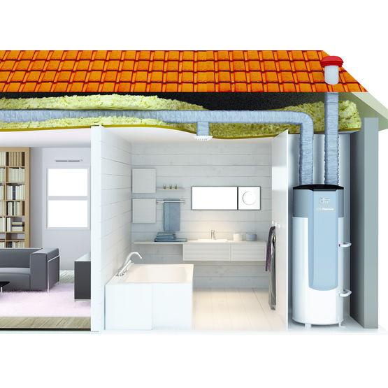 chauffe eau thermodynamique raccord e sur vmc aeromax. Black Bedroom Furniture Sets. Home Design Ideas